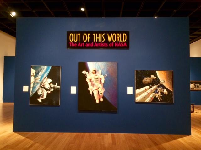 Scene from Vero Beach Museum of Art