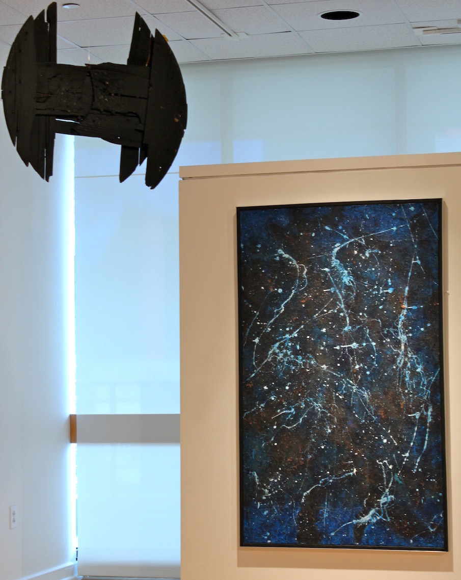 Detail of  Sanctuary  at Gallery 221, Hillsborough Community College, Dale Mabry Campus, 2014