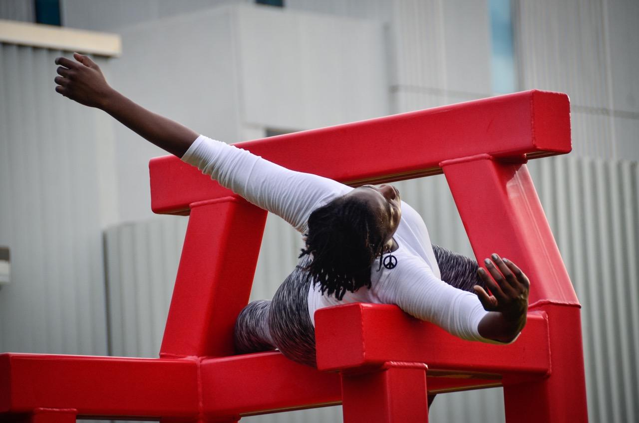 dancer: Charlotte Johnson                              photo: Tom Kramer