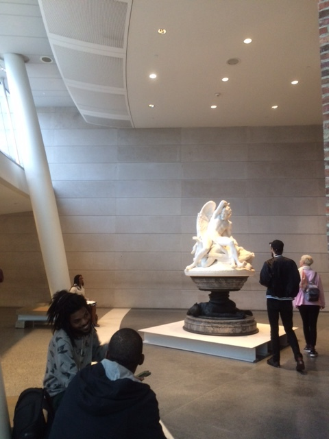 View inside the Brooklyn Museum