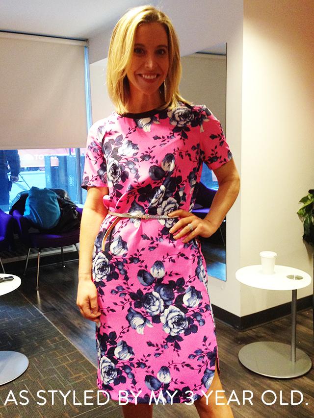 Jenn Falik in Asos Dress on Today Show