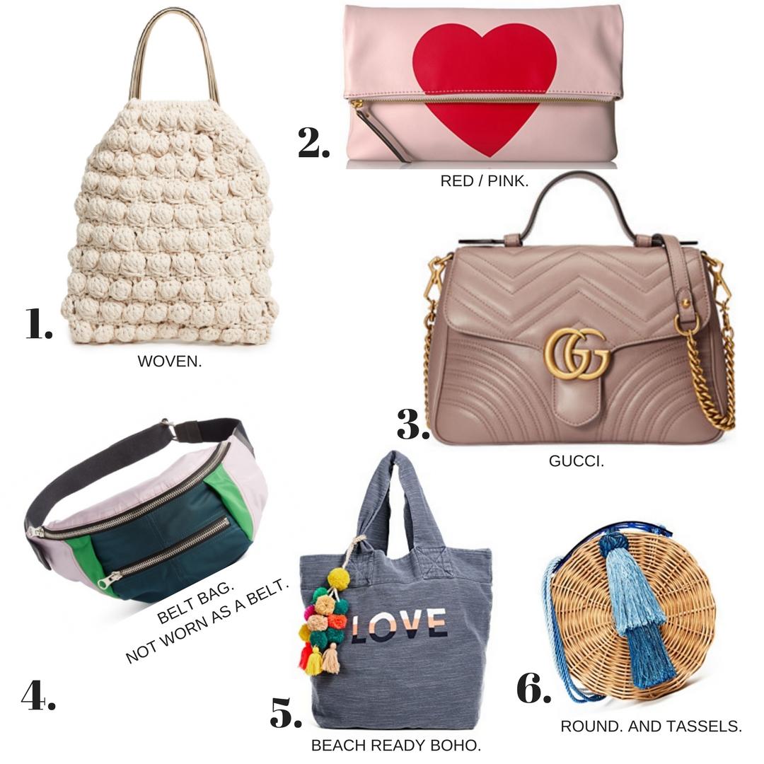 WOVEN  /  HEART CLUTCH  /  GUCCI SHOULDER BAG  /  BELT BAG  /  LOVE BEACH BAG  /  ROUND STRAW