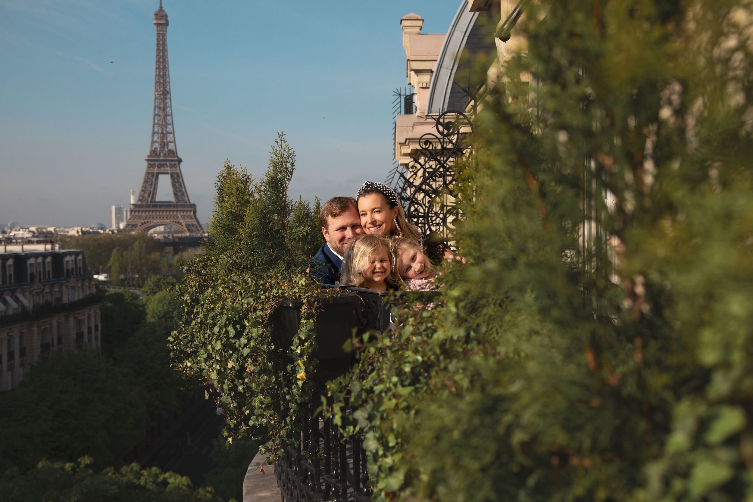 A family photoshoot was maybe the smartest last-minute decision I made as a result of Instagram hashtag stalking as we boarded the plane for Paris. Sure, we didn't have coordinated outfits or fresh blowouts, but   Julie Theis   made the experience so special- and these photos are better than any sidewalk souvenirs.