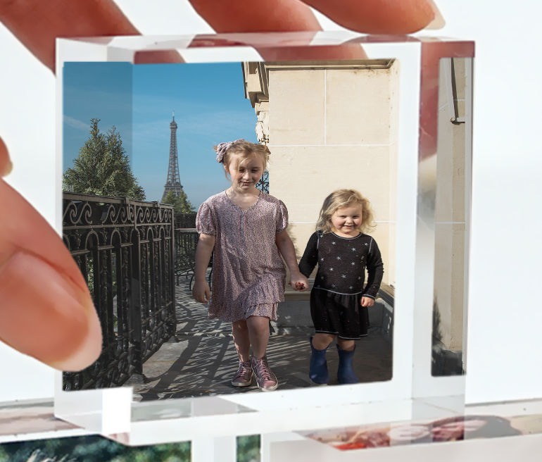 Once I uploaded my Paris photos onto  the site , they instantly created mock-ups and plugged them into all the thumbnails so I could see how the image would look in a stack.