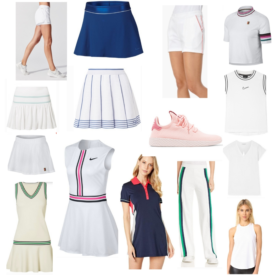 the best women's tennis clothes to build a courtready