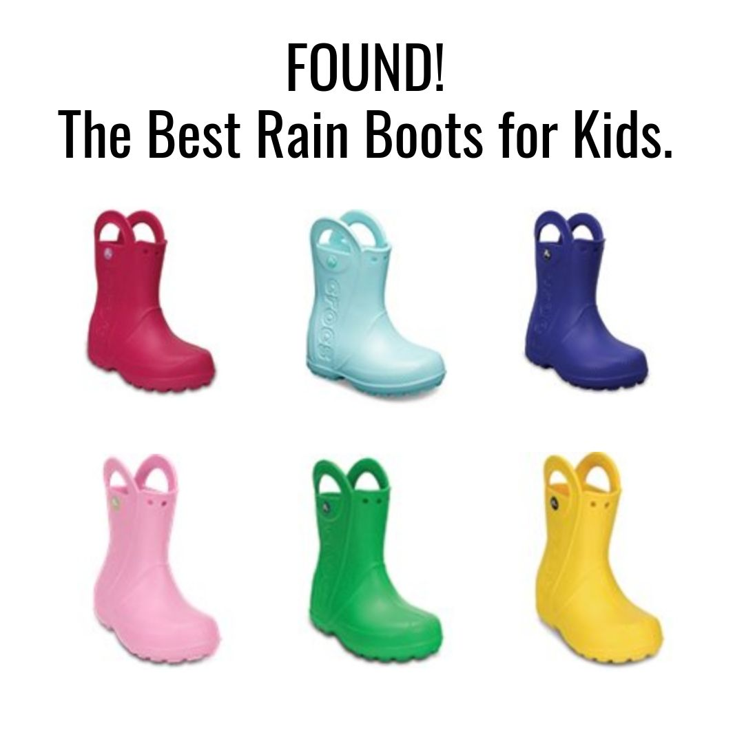 There is no competition, people.  Crocs rain boots  are far superior to any and all others. Plus- the price is SO RIGHT- under $35!