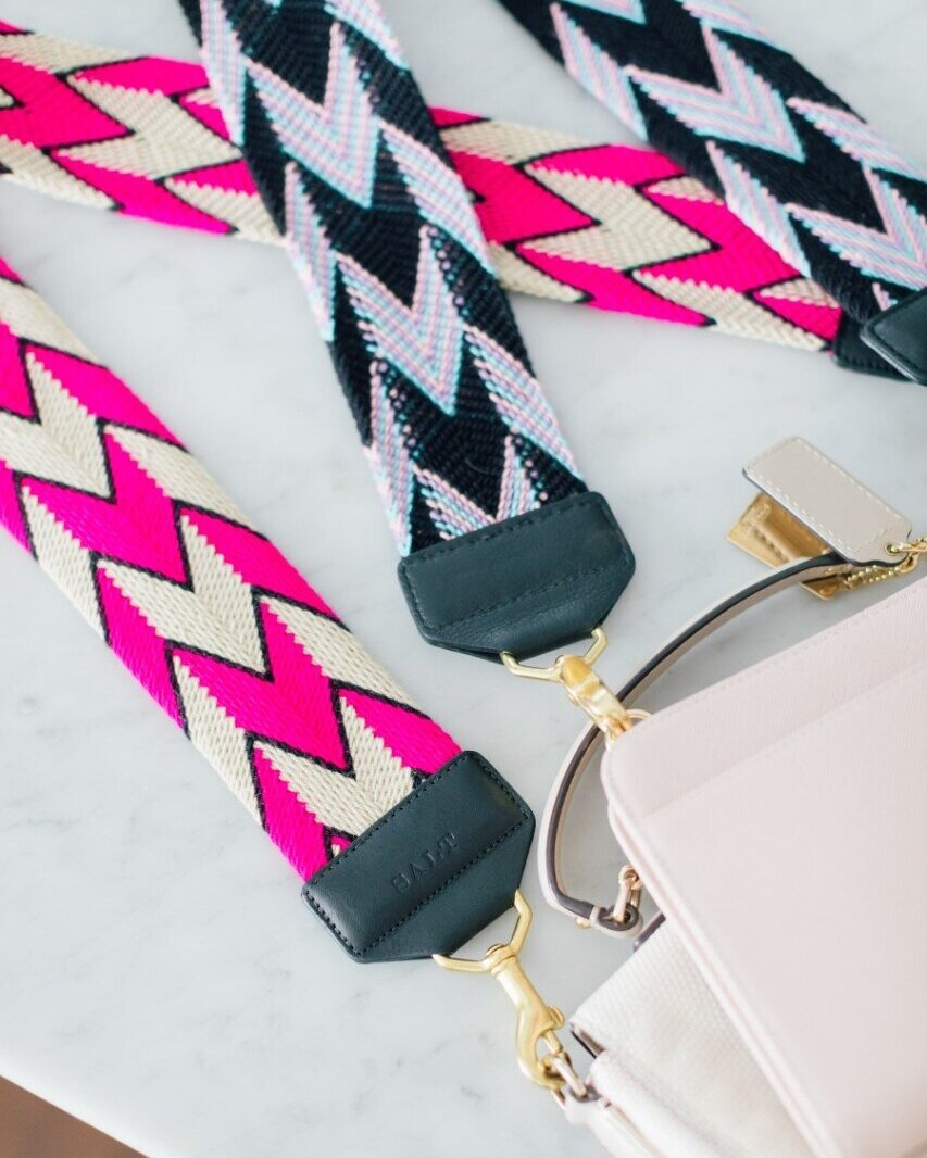 I mean, how gorgeous is the craftmanship on these SALT Straps? Handmade in Colombia, and finished here in NYC.