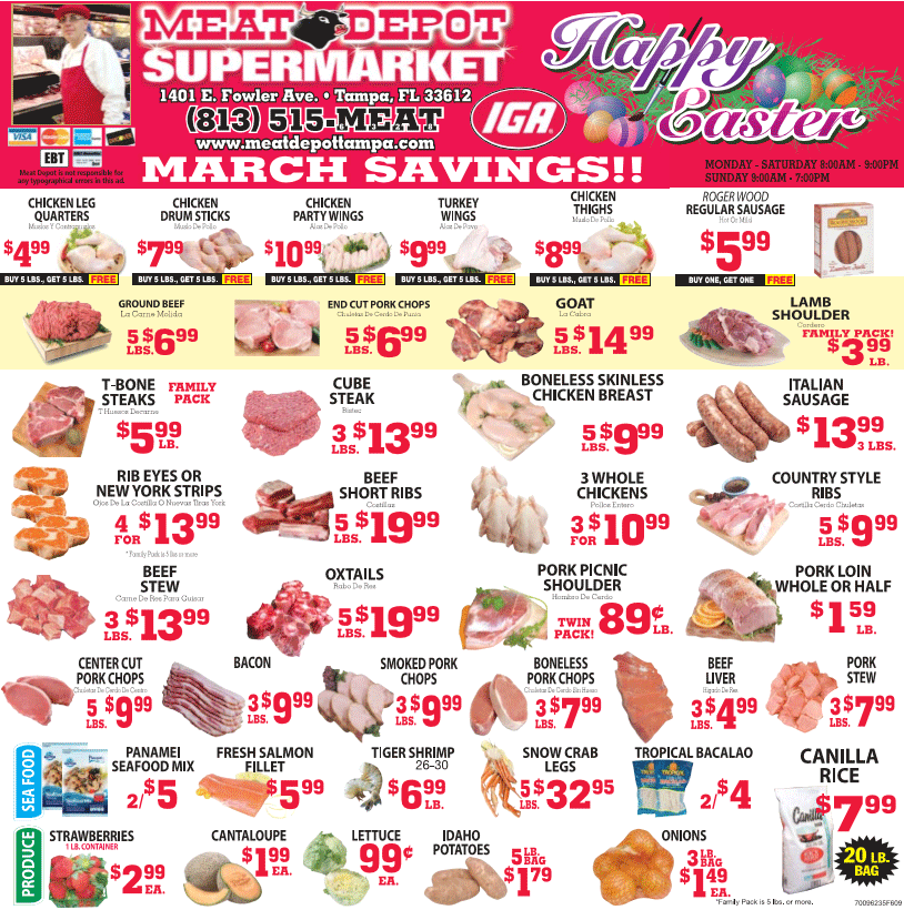 March 2016  Savings Circular print and use in store or present directly from your smartphone.