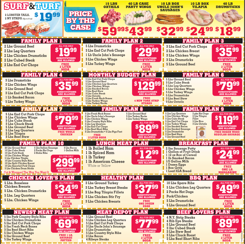 March 2016  Monthly savings circular, you may print and use or present savings by showing this picture directly from your smartphone.