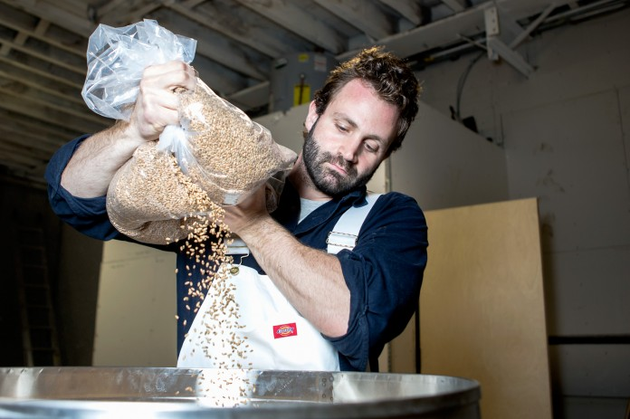 Adam Leonti mills his own flour and holds sold-out classes at the Bread Lab.