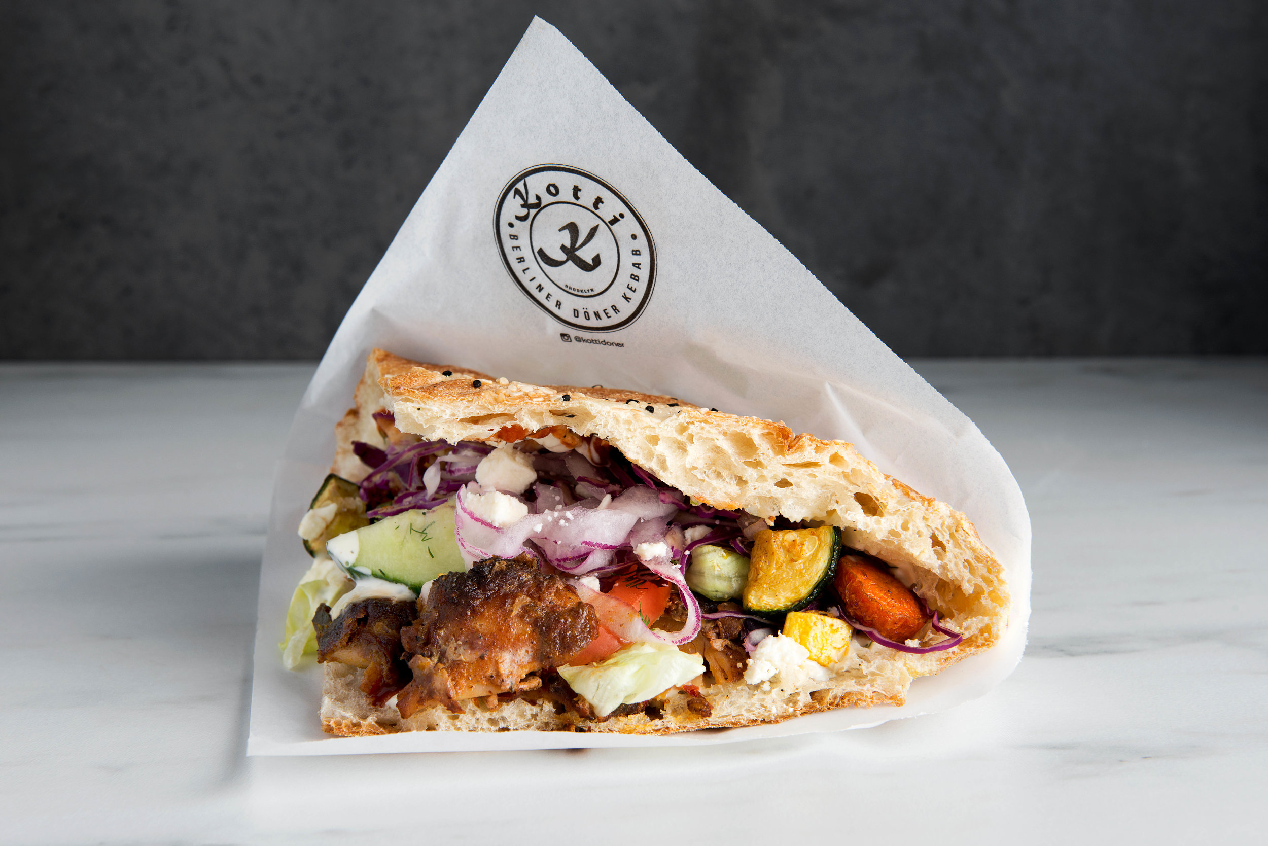 Berlin's doner, a sandwich you can't stop eating. This is a concept to watch.