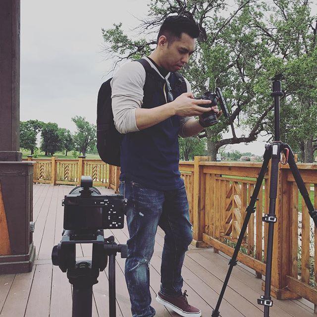 On set of @davidvoxmullen 's music video with @kevinnuge #filmmaker #filmmaking #filmproduction #director #writer #music #musicvideo