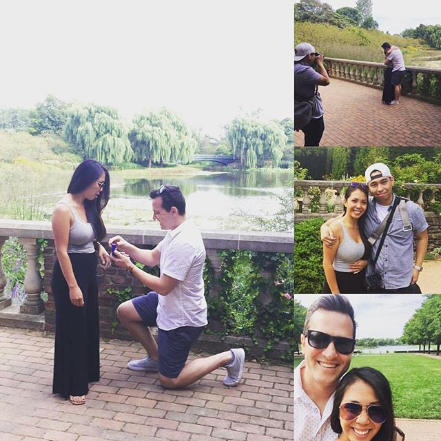 A shoutout to our very own Kevin Nguyen for capturing the proposal John and Nancy. These are the moments we strive for.