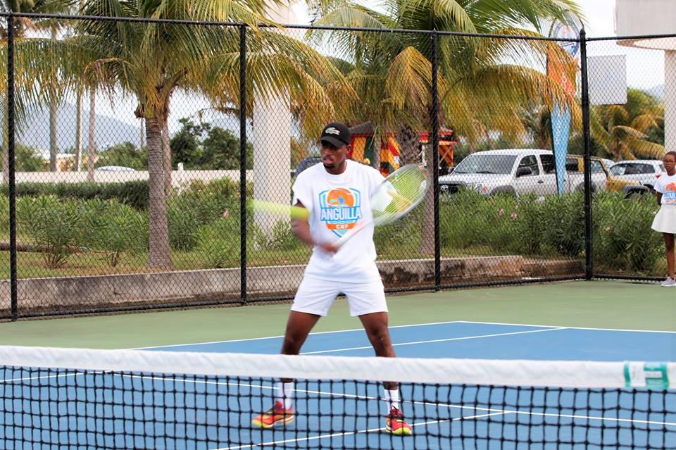 Caribbean Champion Darian King at Anguilla Cup