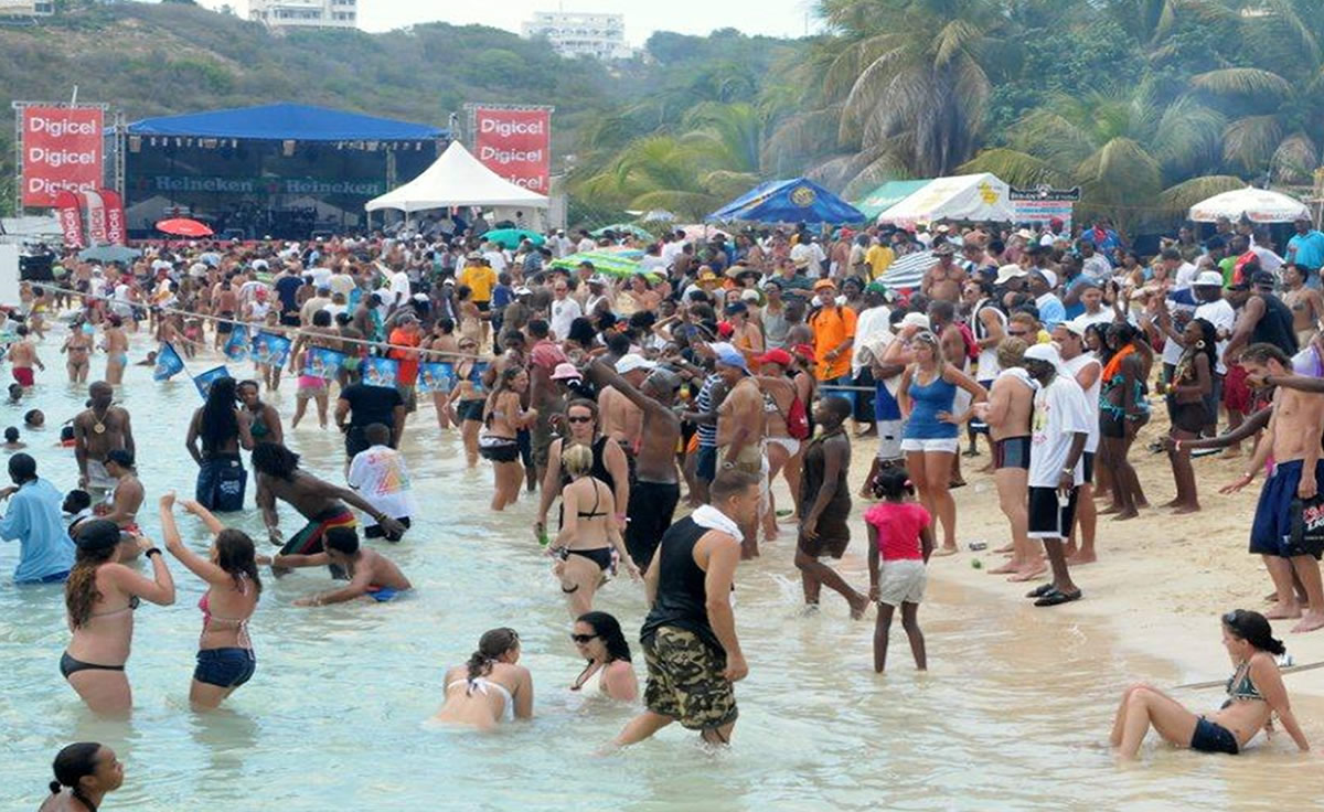 All day Beach parties and concerts are a staple of Summer Festival