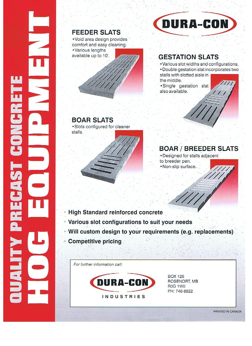 Hog Slat Brochure
