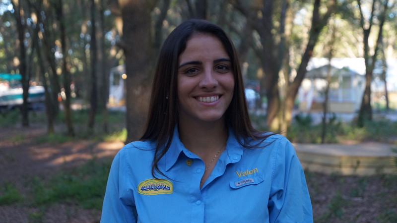 "Valentina Nuñez (Valen)    The Maracucha! (from a state in venezuela) Early Childhood Student at Broward College. She started in Guaikinima in 2013 as a councelor at the cabin of the Cayenas, in addition she is councelor of boating and ropes. Valen is one of the most 4x4 and warrior councelor at Guaikinima. Her passion and dedication give the season a special touch, especially since she always wants to give affection. His favorite activities are ropes and wakeboarding. For Valen the word ""no"" does not exist and less if it is an adventure; she loves nature and always injects her desire to teach, to learn and to be better every day to the whole Camp."