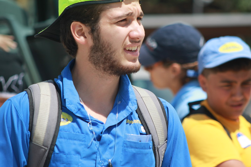 Sebastian Grossman   Sebastian is a Senior Student, started in Guaikinima as a camper 5 years ago, then as CIT in 2015 and he is Guaikinima staff after certifying as councelor in 2016.