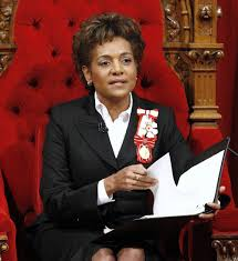 Michaelle Jean former Governor General of Canada 2005-2010