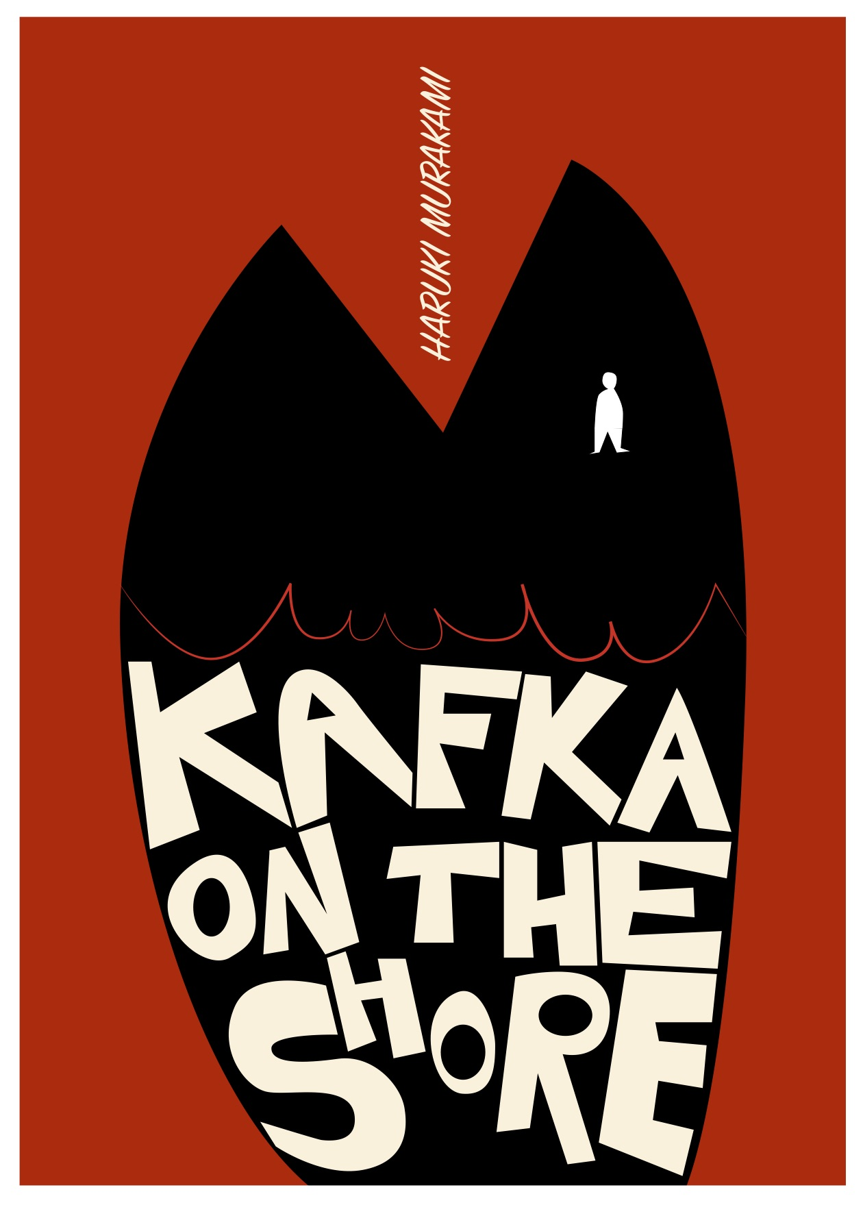 Illustration for the book Kafka on the shore - Haruki Murakami