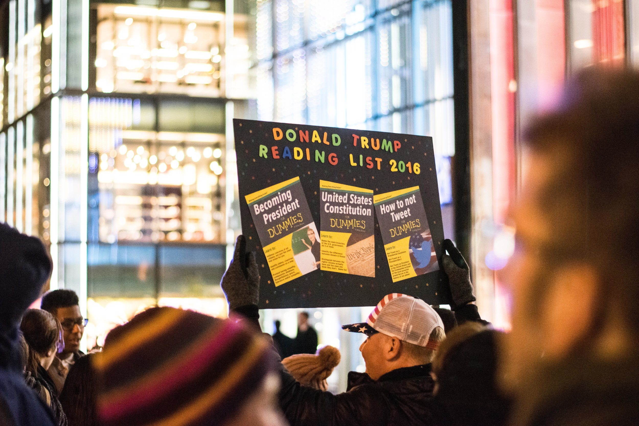 2016-NYC-New-York-Trump-Protest-March-Sign-Reading-List-Funny