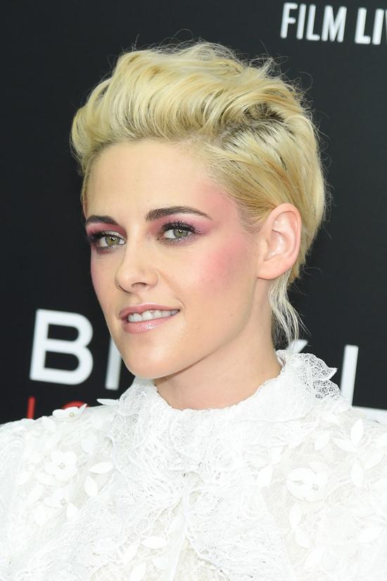 Makeup Beau Nelson created for Kristen Stewart for 2016 New York Film Festival. omandlorenzo.com
