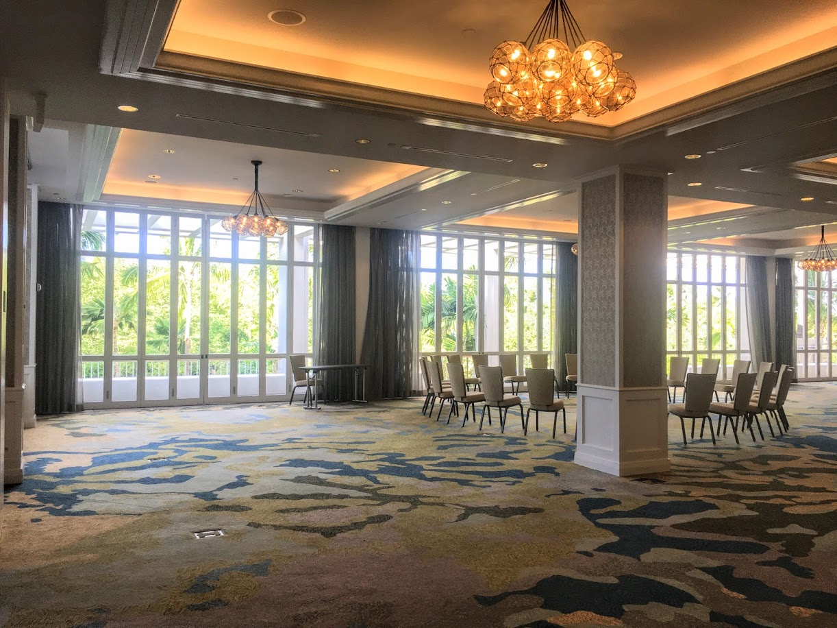 The Malolo room is the perfect space to have an indoor reception for larger parties.