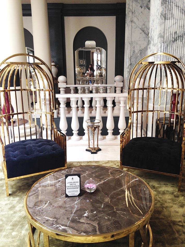 Titanic lobby birdcagechairs