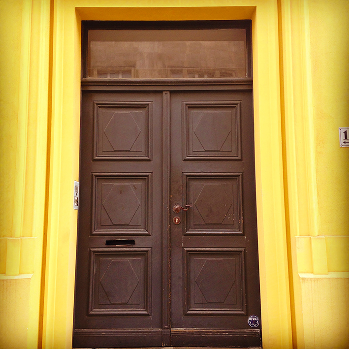 Berlin Yellow House