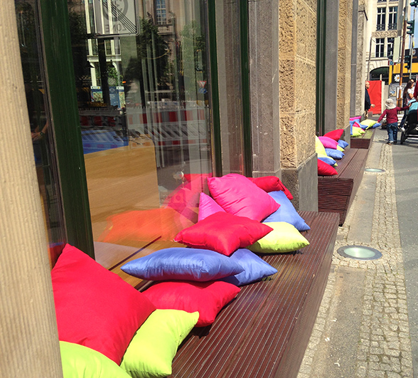 Berlin Microsoft Cafe