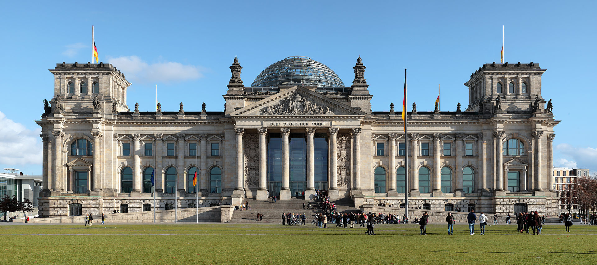 The Reichstag. Image Wikipedia