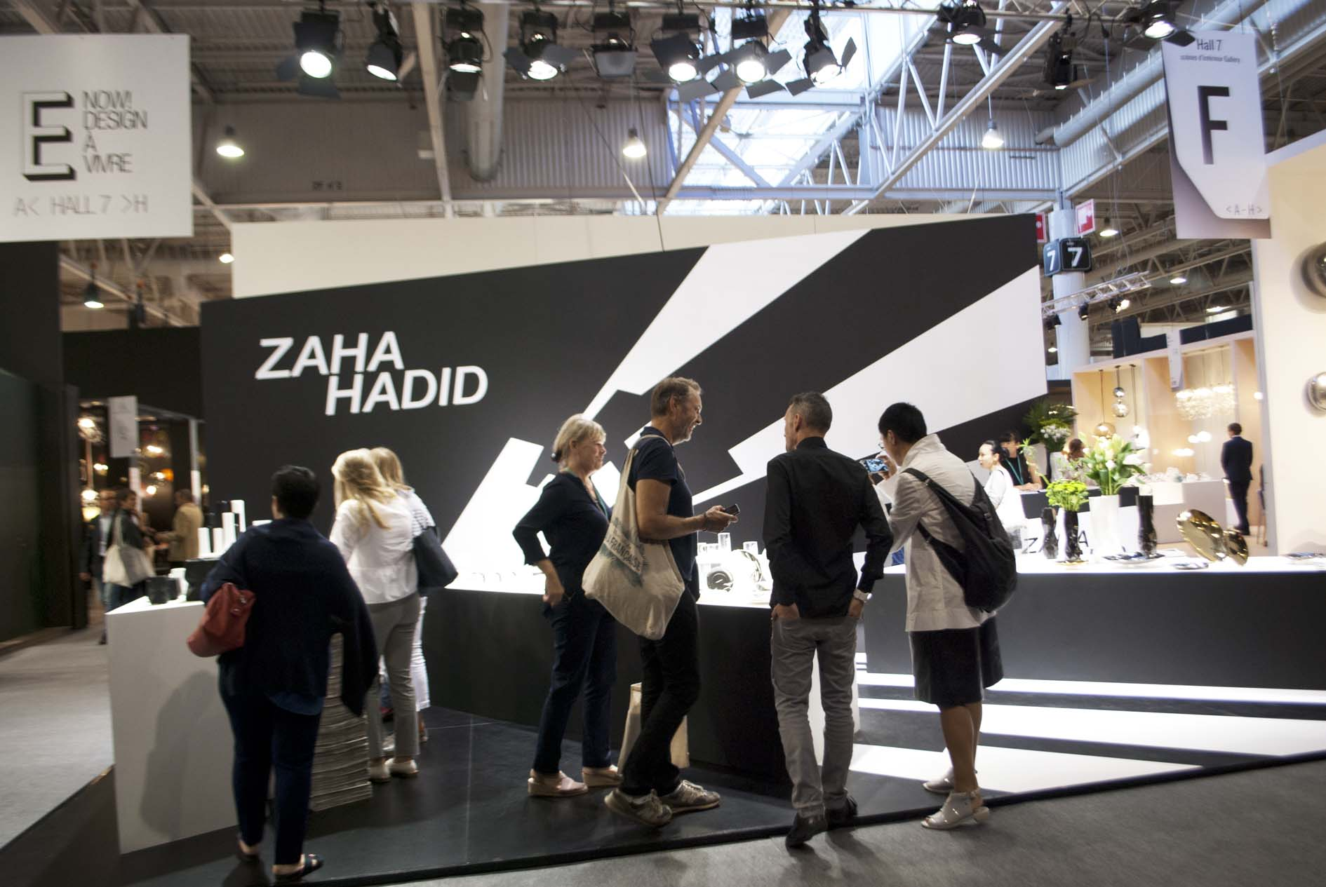 Zaha Hadid at Maison&Objet