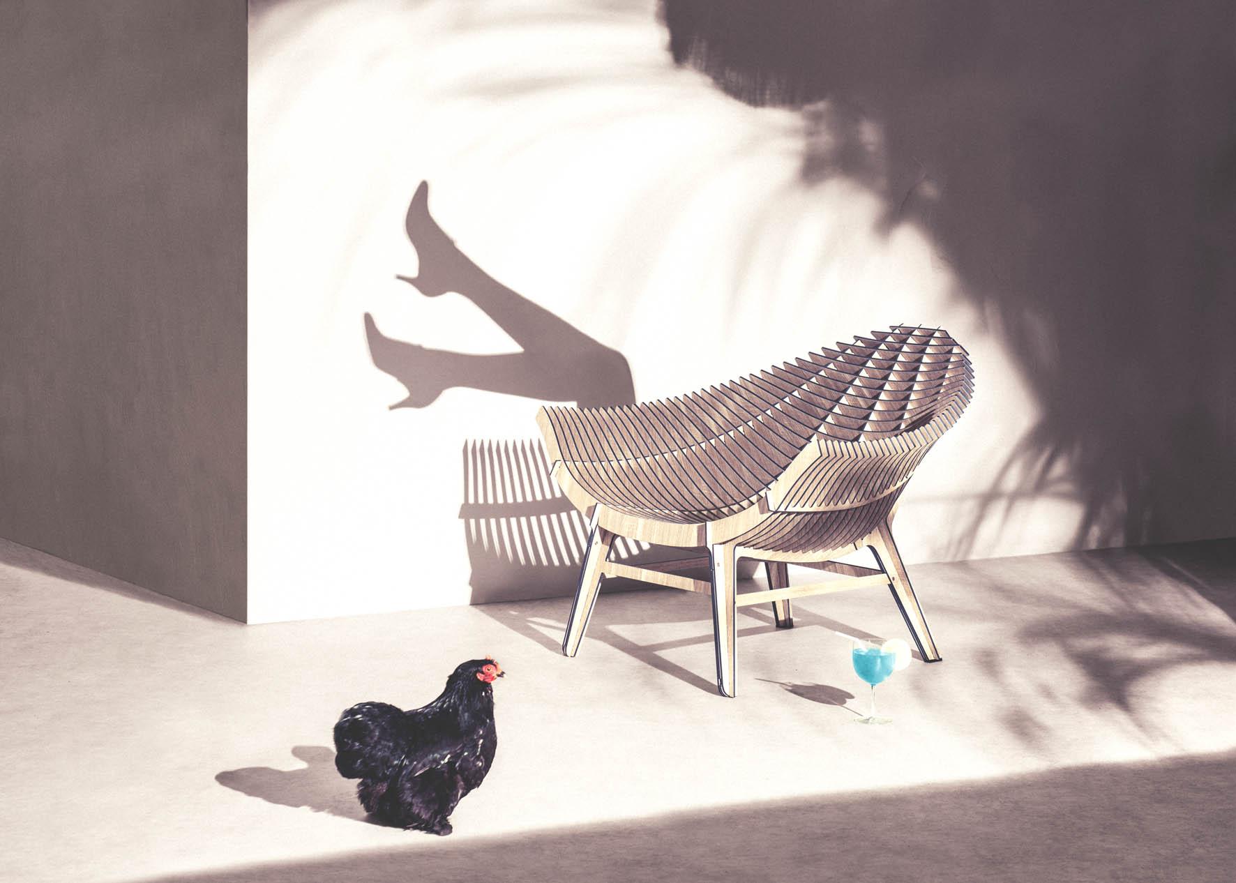 ibride outdoor chair.