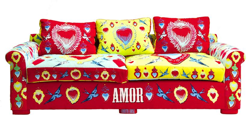 Corita Rose textile design.