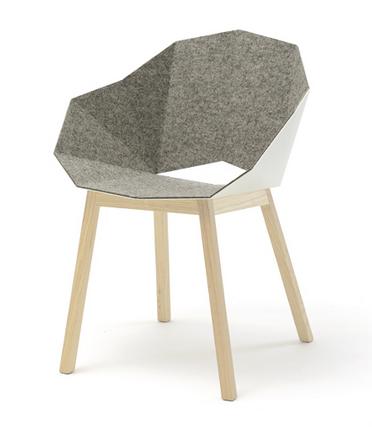 Frederik Roijé's Seatshell chair.