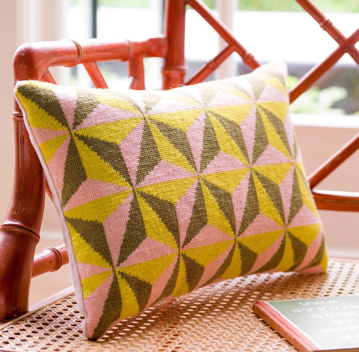 The Tetrahedron Cushion for Pentreath & Hall