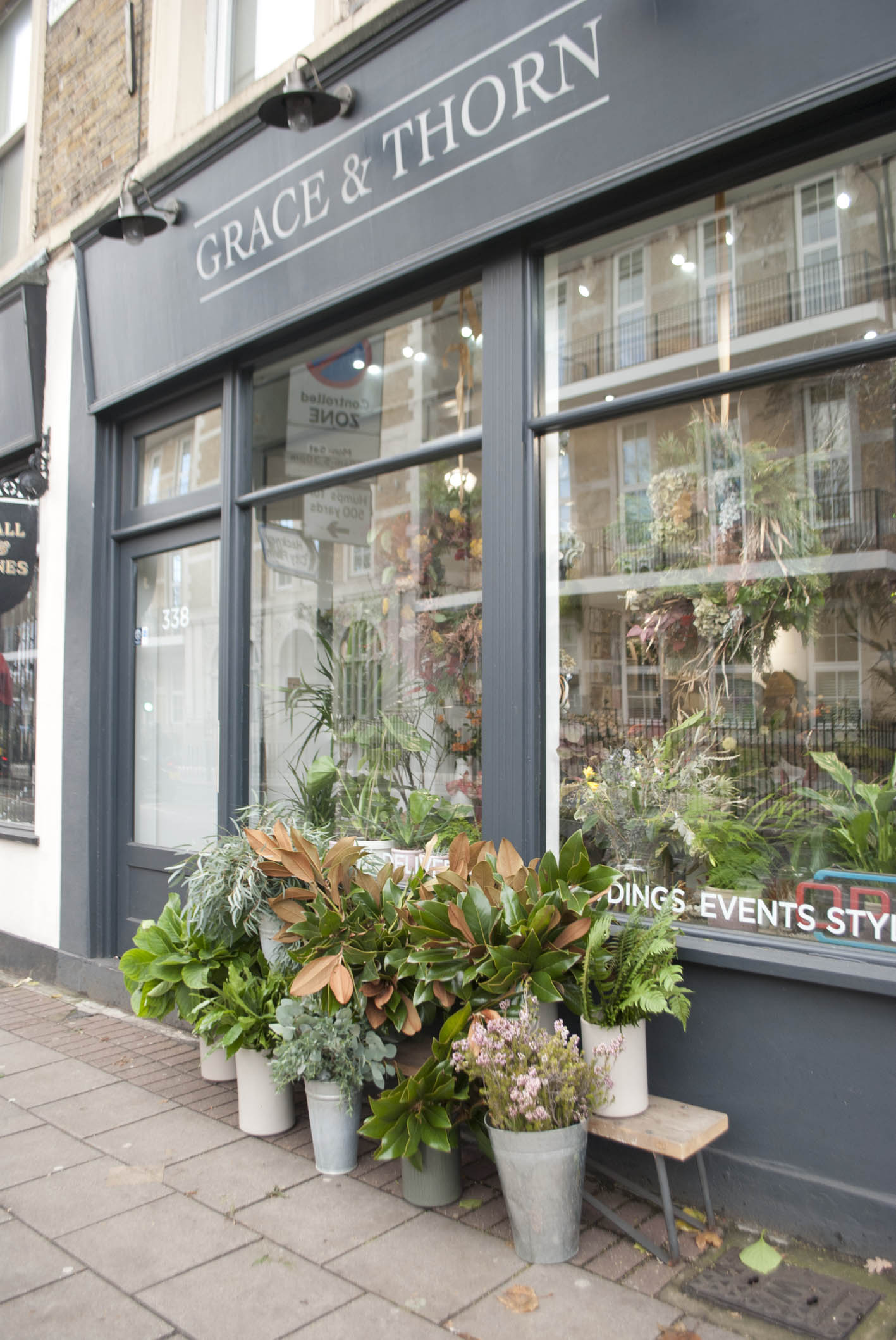 Grace & Thorn's Hackney Shop