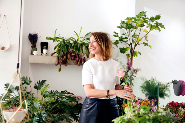 Nik Southern, the florist breaking all the rules. Image Credit: Grace & Thorn