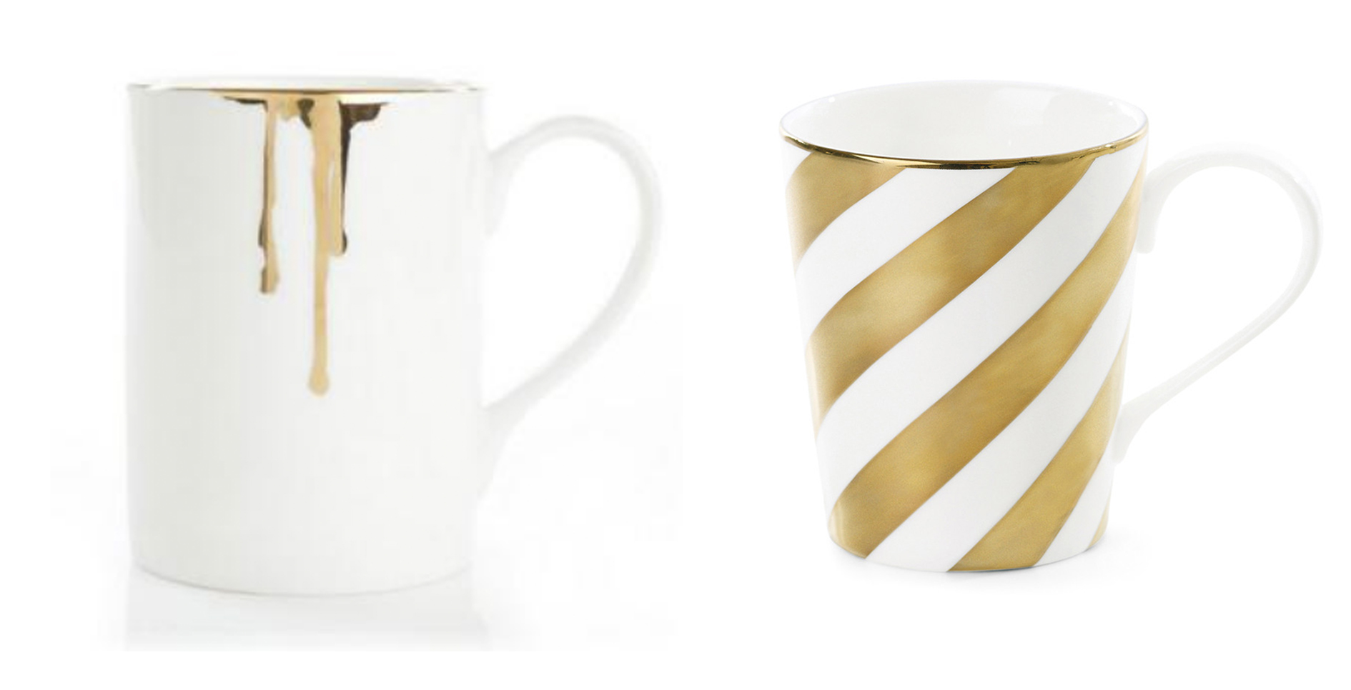 Inspiration gold! These fab examples are from  Gramercy & Co  (left) and  Amara  (Right)
