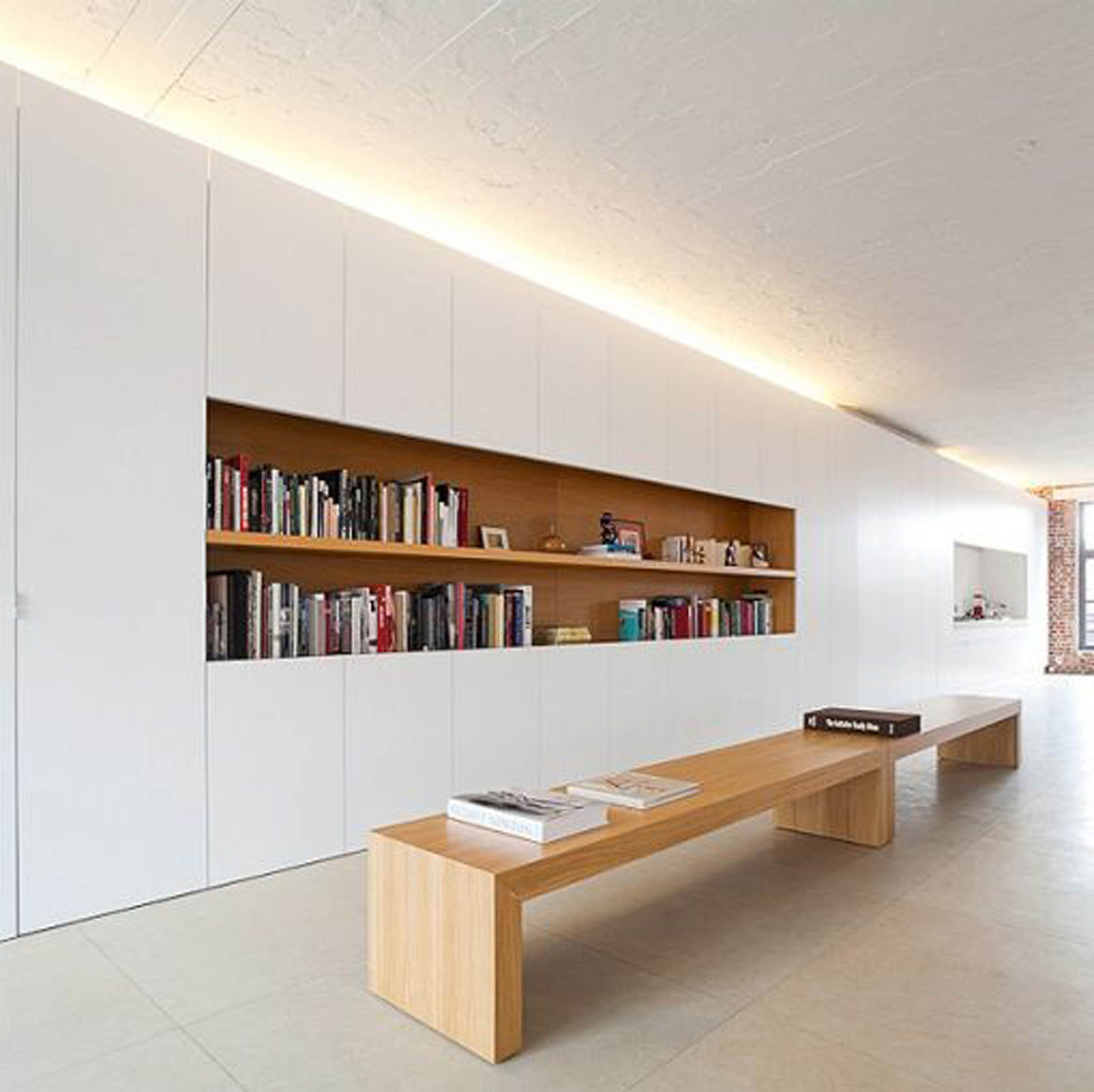 Clever storage in typical modern design streamlines our homes and our lives. Image Credit: arhitekturaplus.com