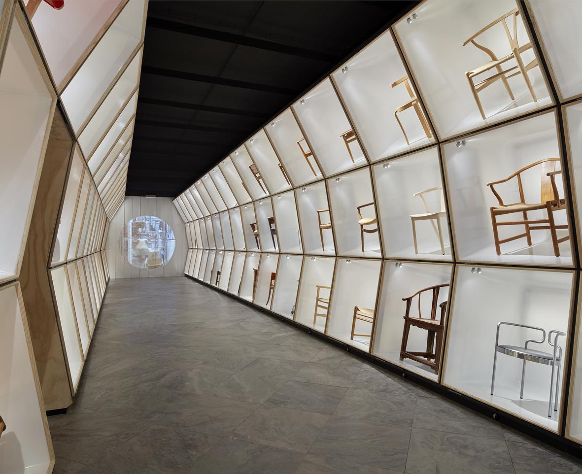 The Danish Chair Exhibition, the Design Museum Copenhagen.