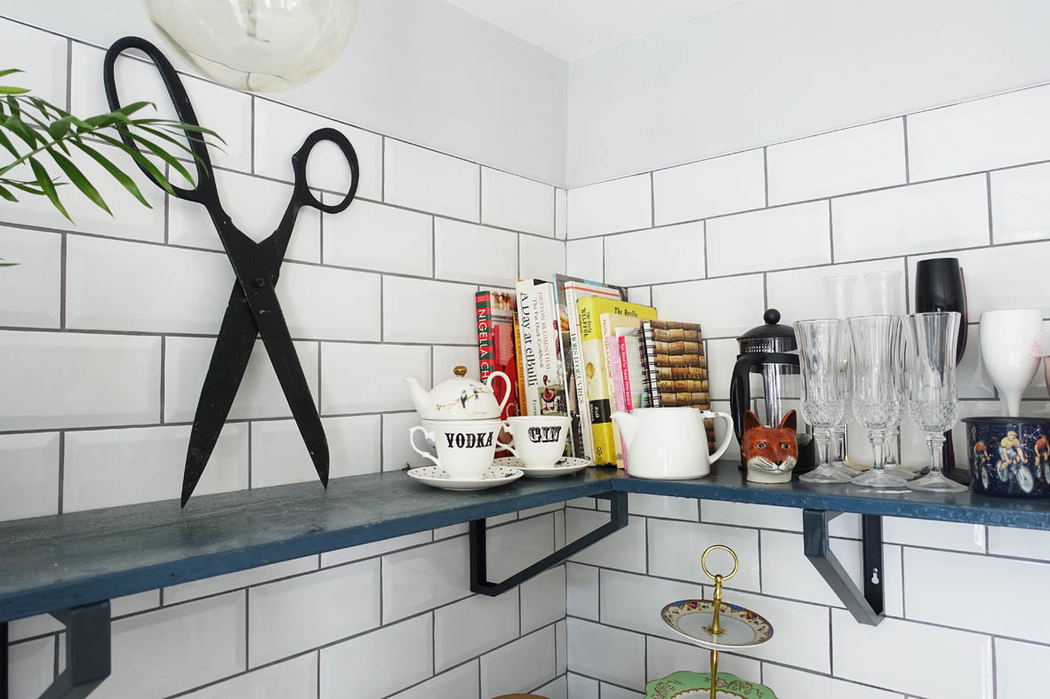 Quirky tpuches in a colourful and quirky home