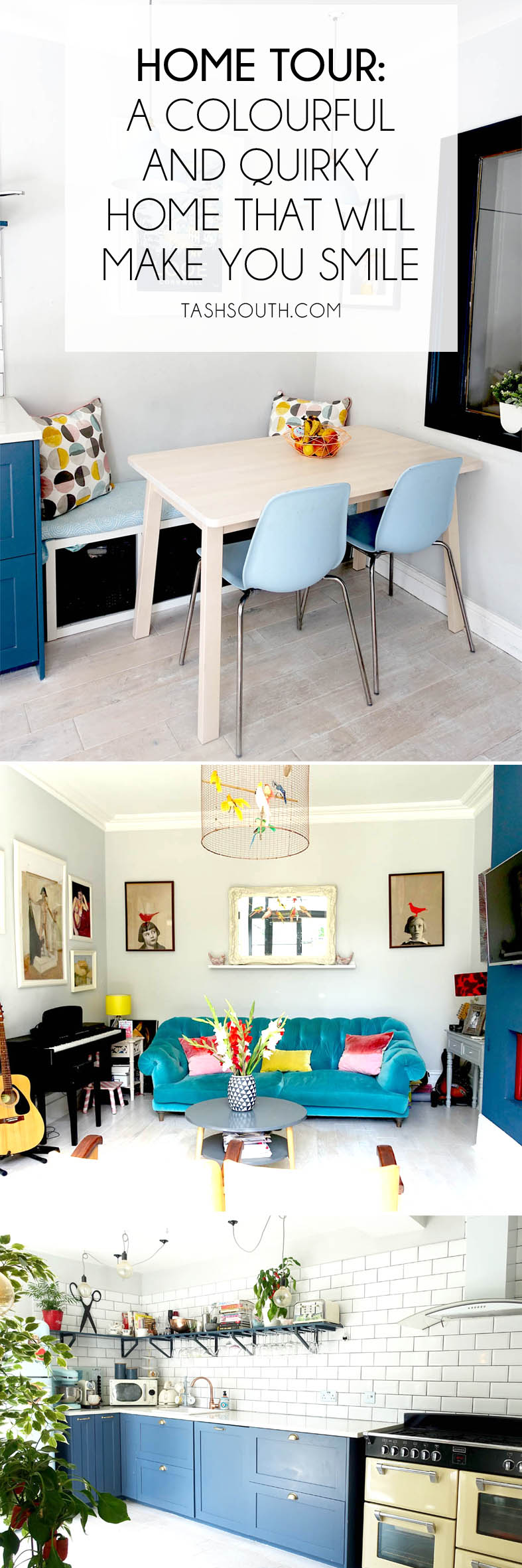 A colourful quirky home that will make you smile