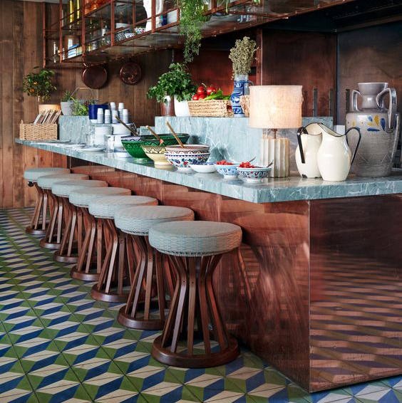 Bert & May tiles at Soho House Berlin
