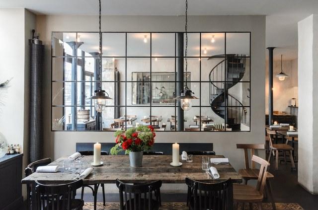 Septime Restaurant, Paris, voted one of the World's 50 Best Restaurants