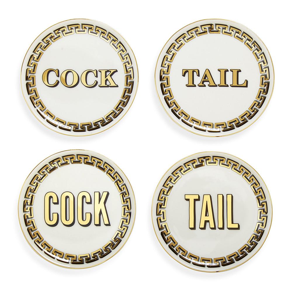 Jonathan Adler Cock Tail Coasters