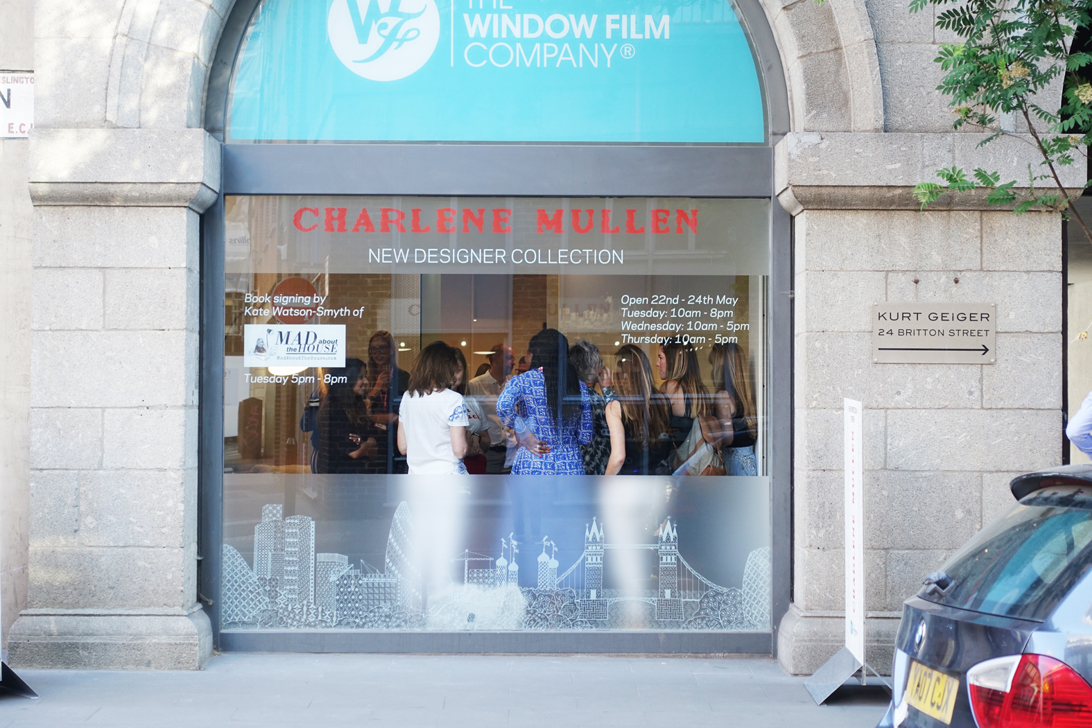 The Window Film Company and Charlene Mullen launch event at Clerkenwell Design Week