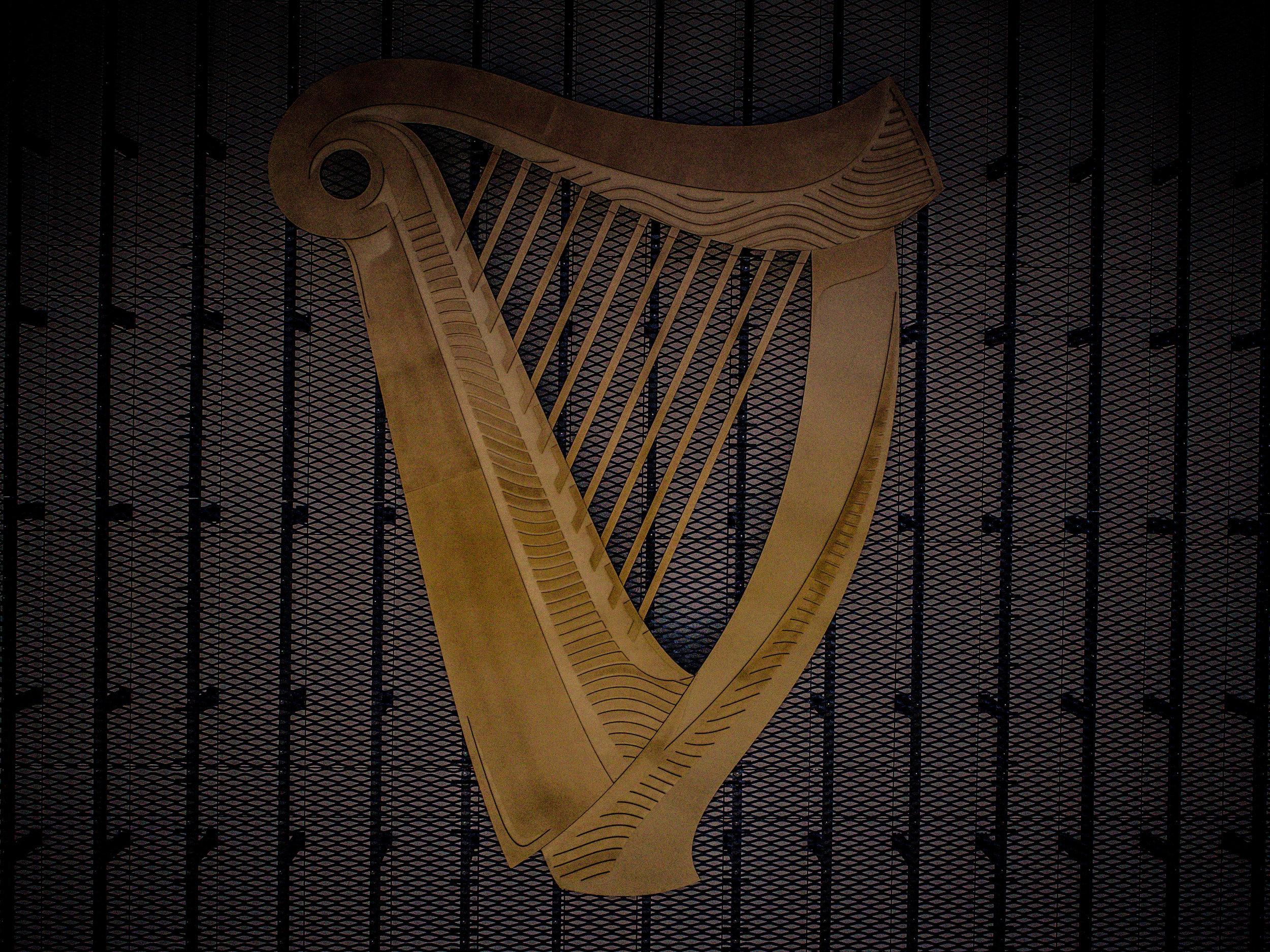 baltimore aerials guinness harp