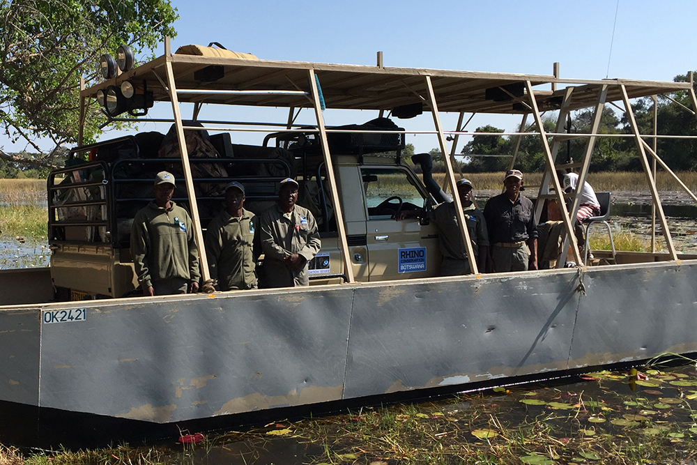 With special training, our highly skilled new rhino monitoring officers are ready for whatever lies ahead.
