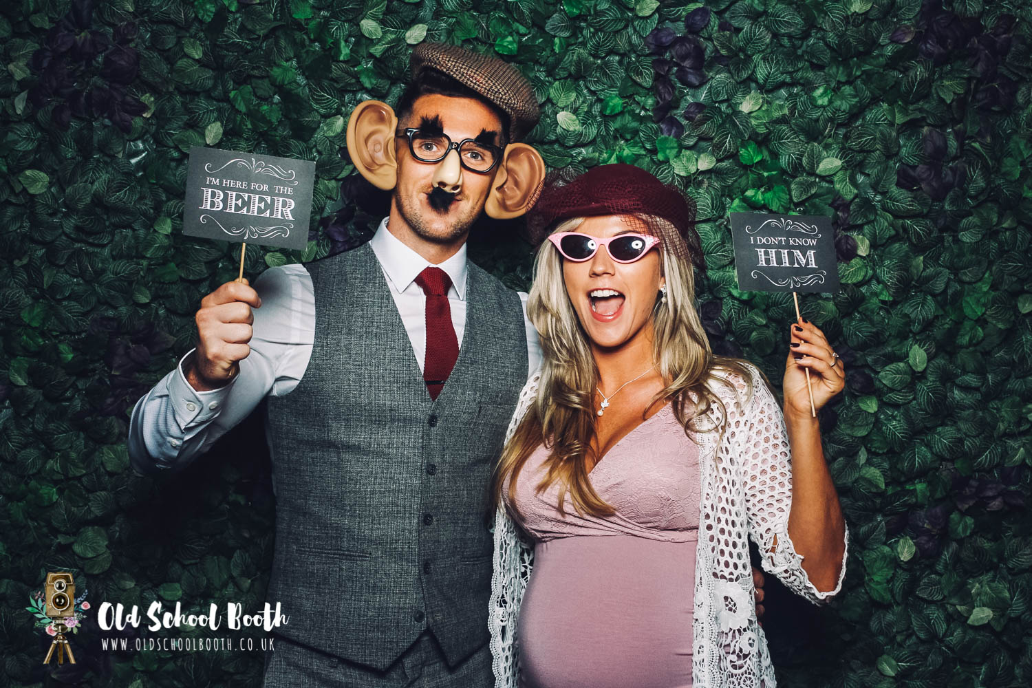 vintage photo booth midlands
